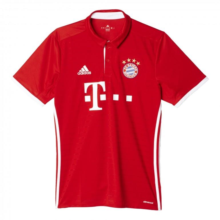 Maillot Bayern Munich domicile 2016 - 2017