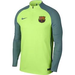 Sweat Zippé Technique FC Barcelone Strike vert 2016-17