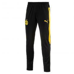 Pantalon survêtement Dortmund noir bandes jaunes 2016 - 2017
