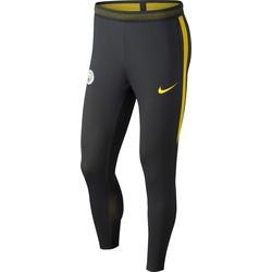 Pantalon survêtement Squad Manchester City noir bandes jaunes 2016 - 2017