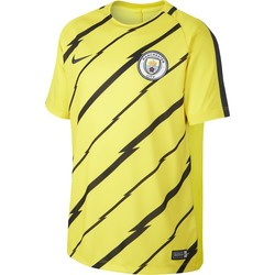 Maillot entraînement junior Manchester City jaune 2016 - 2017