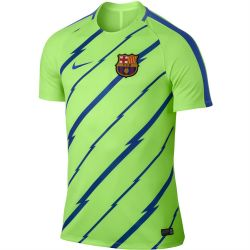 Maillot entraînement junior FC Barcelone vert 2016 - 2017