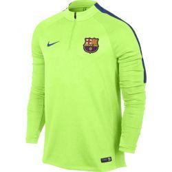 Sweat zippé junior FC Barcelone vert 2016 - 2017
