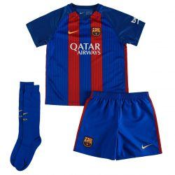 Kit bébé domicile FC Barcelone avec sponsor 2016 - 2017