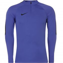 Sweat zippé technique Nike violet bandes noir