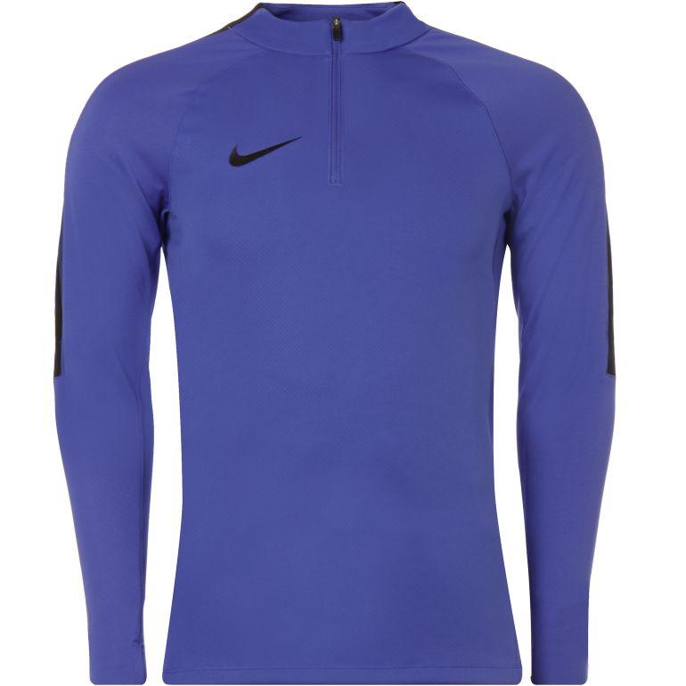 Sweat zippé technique Nike violet bandes noir
