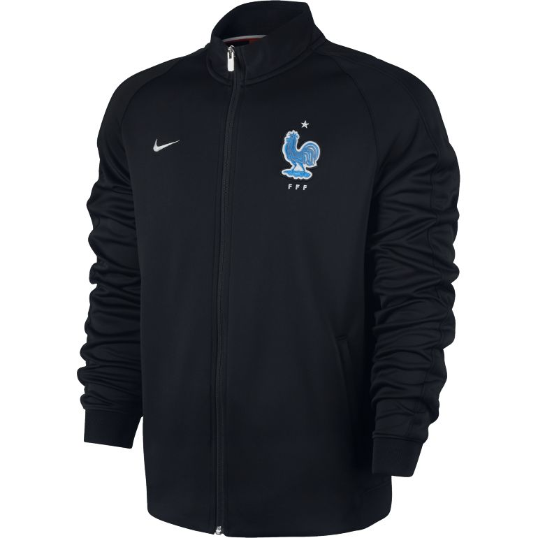 Veste survêtement N98 Equipe de France FFF noir 2016