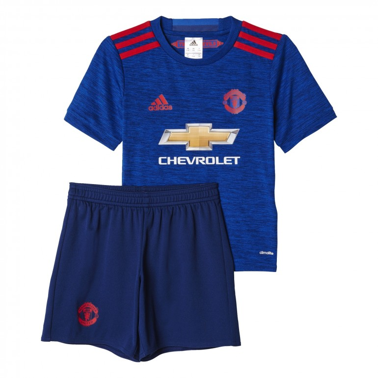 Ensemble enfant manchester united ext rieur 2016 2017 for Manchester united exterieur