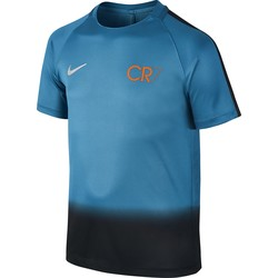 CR7 Y NK DRY SQD TOP SS GX BLUE