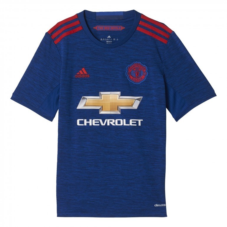 Maillot ext rieur manchester united junior 2016 2017 sur for Manchester united exterieur