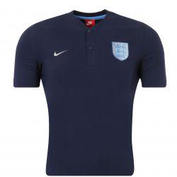 Polo Angleterre bleu 2016