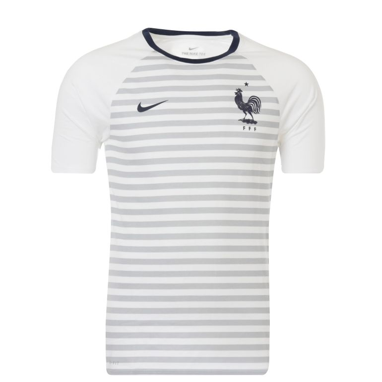 t shirt marini re equipe de france fff 2017 sur