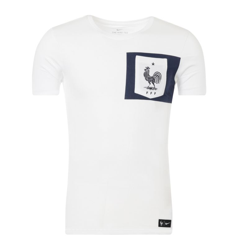 T-shirt Equipe de France FFF blanc 2017