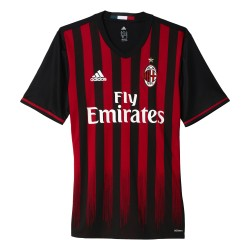 Maillot match Milan AC Authentique domicile 2016 - 2017