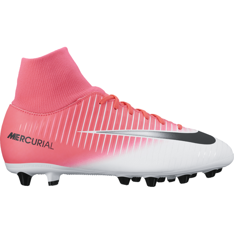 Mercurial Victory VI junior Dynamic Fit AG-pro rouge
