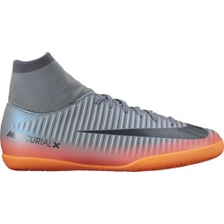 Mercurialx Victory VI junior CR7 Dynamic Fit IC gris et noir