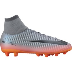 Mercurial Victory VI junior CR7 Dynamic Fit AG-pro gris et noir