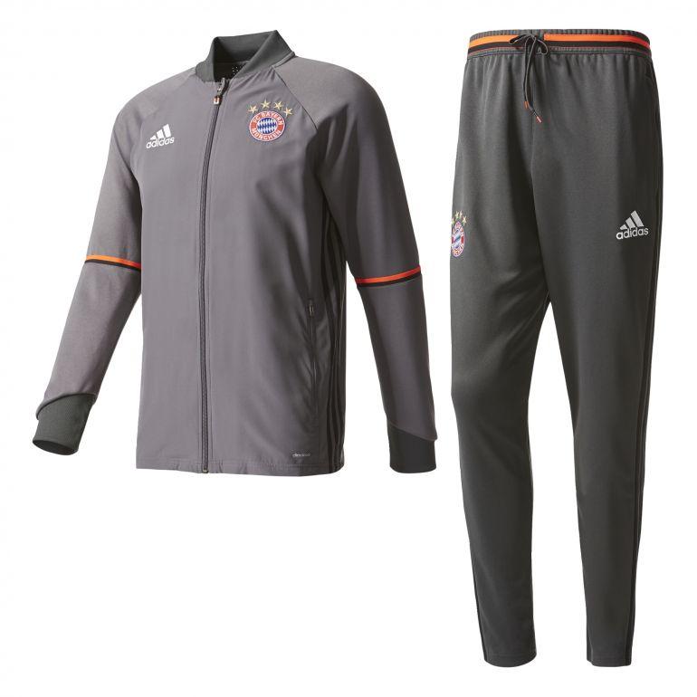 Ensemble survêtement Bayern Munich gris 2016 - 2017