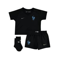 Kit junior Equipe de France FFF noir 2017