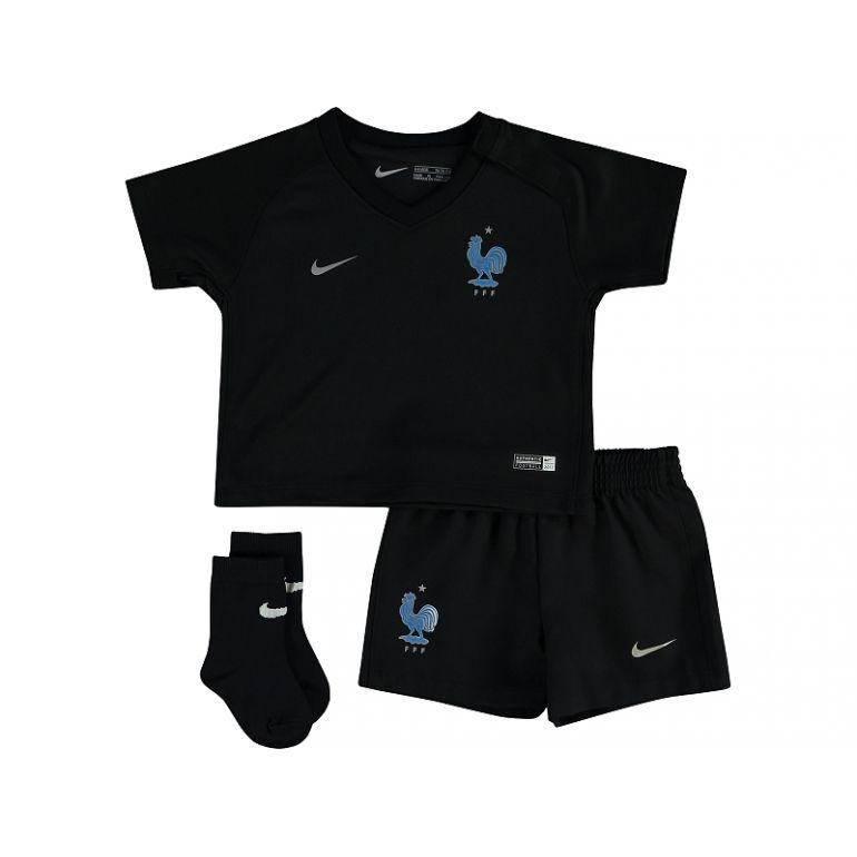 Kit junior Equipe de France FFF noir 2017