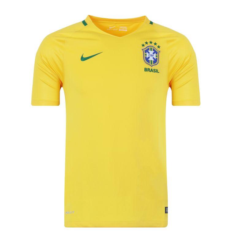 Maillot domicile Brésil 2017