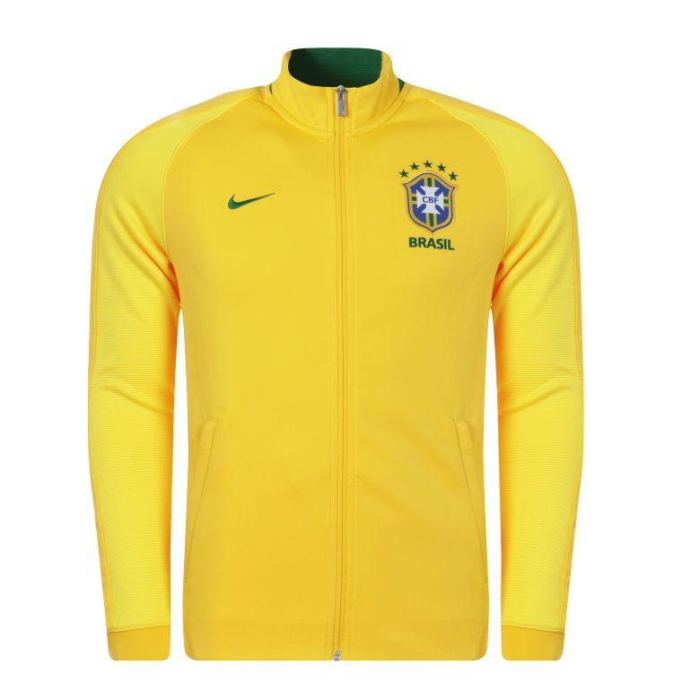Veste N98 Authentique Brésil jaune 2017
