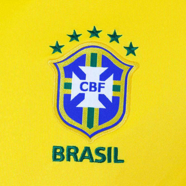 Veste n98 authentique br sil jaune 2016 sur - Logo club foot bresil ...