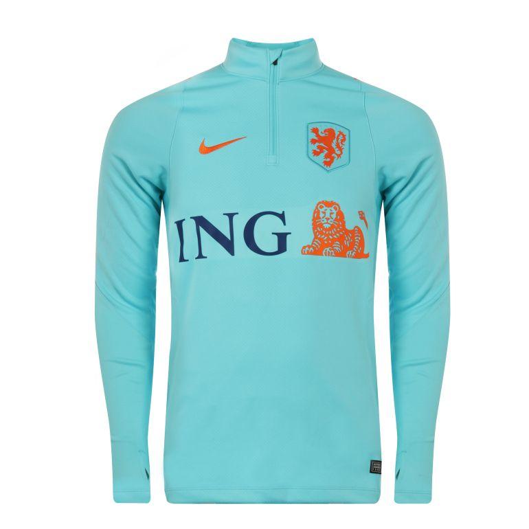 Sweat zippé Pays Bas bleu 2017