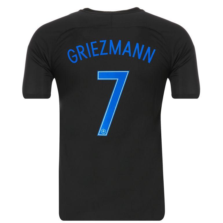 Maillot Griezmann junior Equipe de France FFF noir 2017