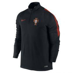 Sweat zippé Portugal noir 2016
