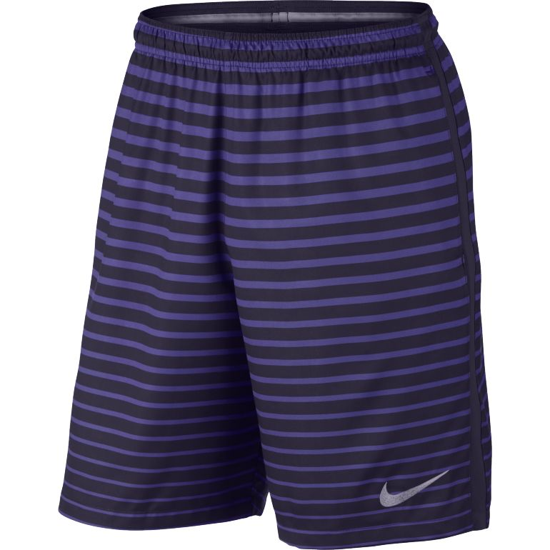 Short junior violet rayé Nike