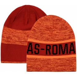 Bonnet réversible AS Rome orange