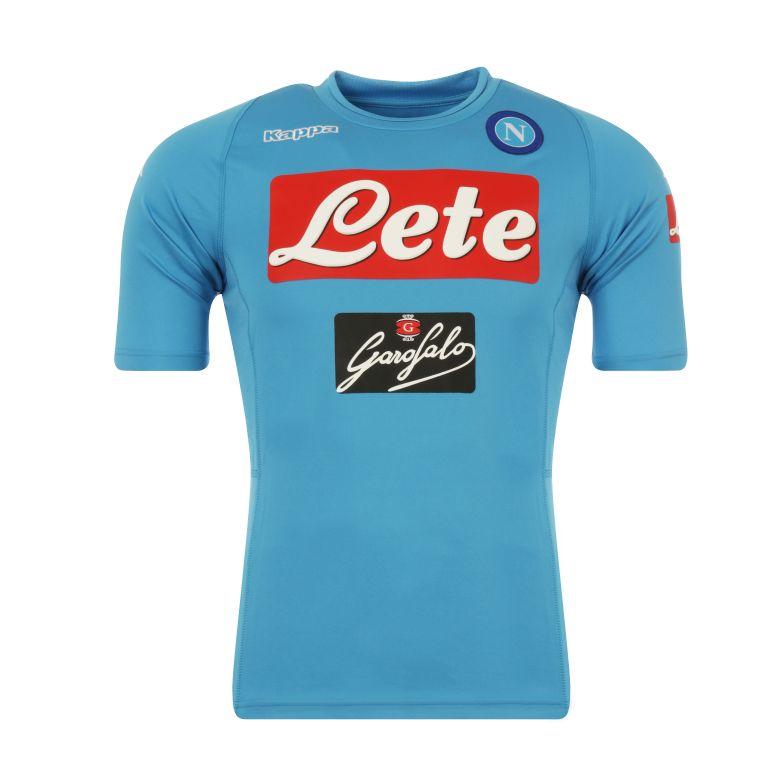 Maillot entraînement Naples bleu 2016/17