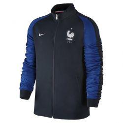 Veste Survêtement Equipe de France FFF N98 bleue 2016