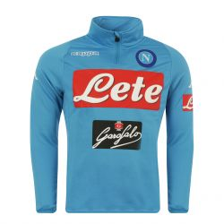 Sweat zippé Naples bleu 2016 - 2017