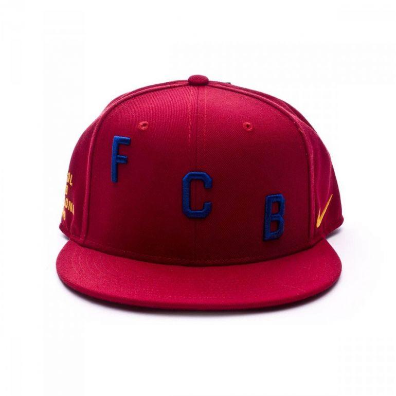 Casquette Squad FC Barcelone rouge