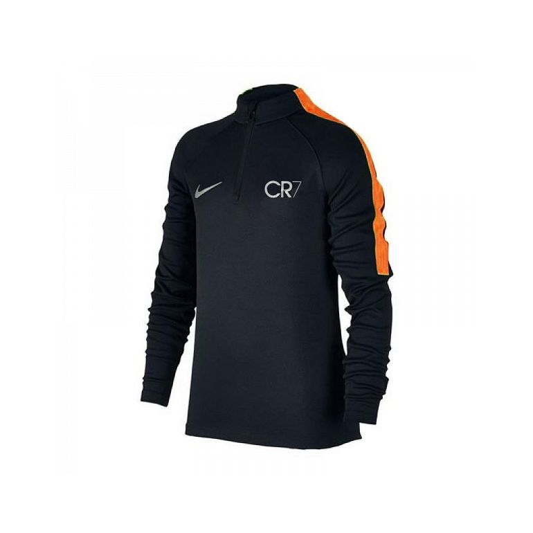 Sweat zippé CR7 noir 2017