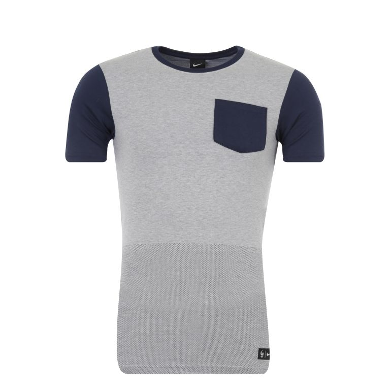 T-shirt Authentique Equipe de France FFF gris 2016