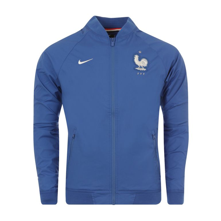 Veste Authentique Equipe de France FFF bleu 2016