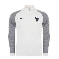 Veste Survêtement Equipe de France FFF N98 blanche 2016