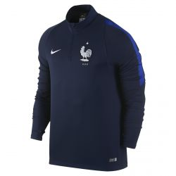 Sweat zippé Equipe de France FFF bleu 2016