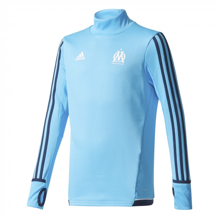 Sweat junior OM bleu 2017/18