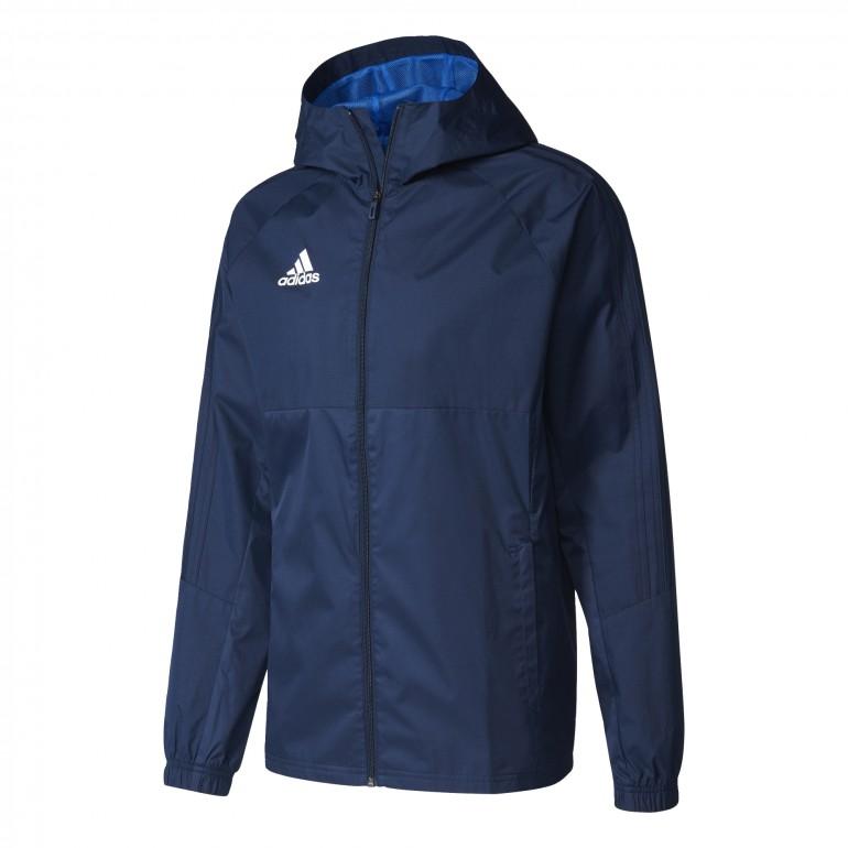 Veste adidas TIRO 17 RN bleu foncé