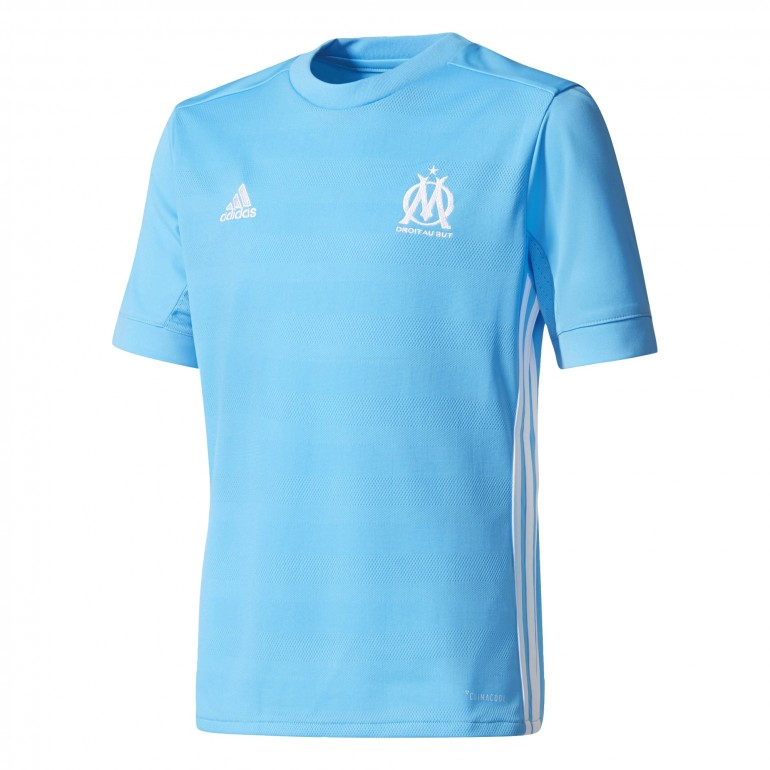 Maillot junior om ext rieur 2017 18 sur for Maillot exterieur om 2017