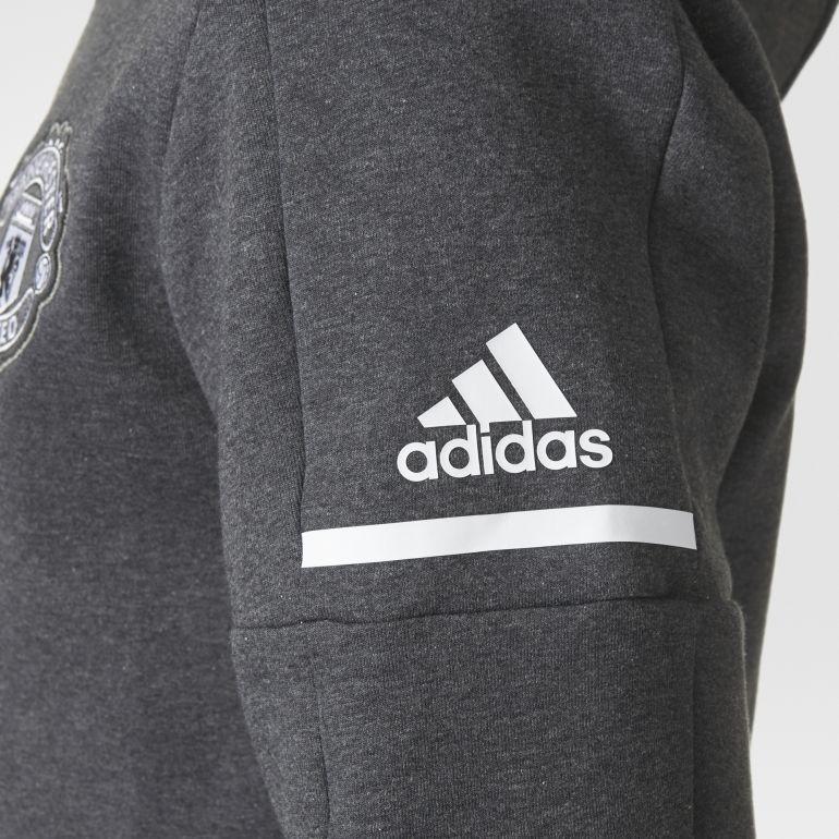 veste survetement adidas grise