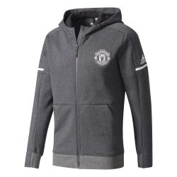 Veste survêtement anthem Manchester United gris 2017/18