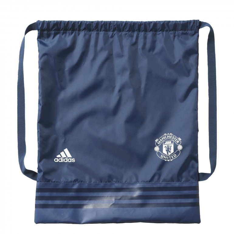 Sac à cordelettes Manchester United bleu