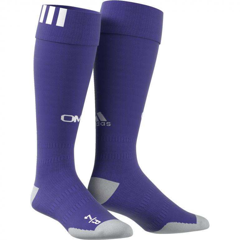 Chaussettes OM third violet 2017/18