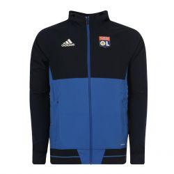 Veste survêtement junior OL bleu foncé 2017/18