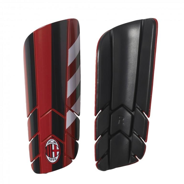 Protège tibias pro lite Milan AC rouge noir
